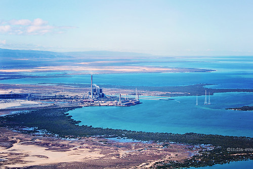 The View From Above (PA Power Station & The Spencer Gulf, Port Augusta, SA) | by dana.nikolova (india-eve)