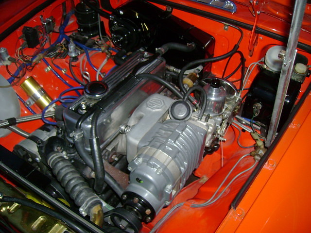 Moss Motors Mga Supercharger