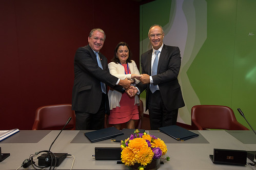 WIPO, EPO and Spanish IP Office Sign LATIPAT Agreement | by WIPO | OMPI
