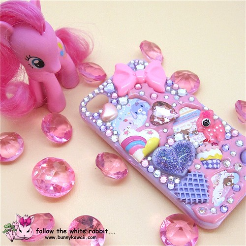 kawaii iphone 5 case iphone 4 4s decoden kawaii mauve follow the white 15599