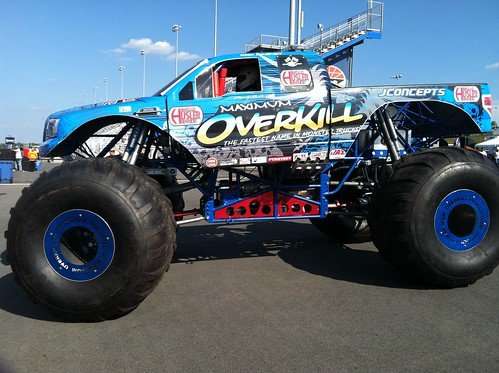 Aaron's monster truck that's going to attempt wr | by todd_dills