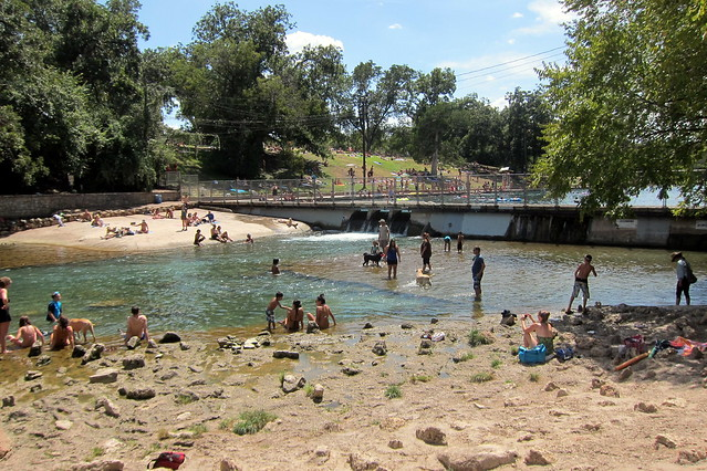 Austin zilker metropolitan park lower barton creek for Barton creek nursery