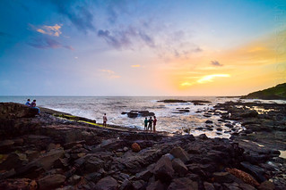 Sunset at Baga, Goa | by Lovell D'souza
