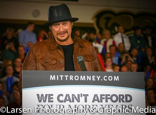 Kid Rock at Romney/Ryan Rally | by Larsenphotography