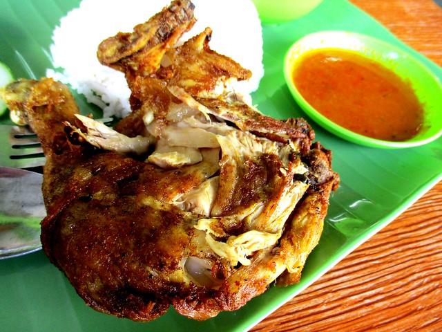 Nasi ayam penyet 2