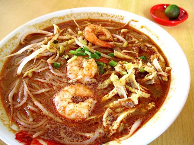 Colourful Cafe Sarawak laksa 1