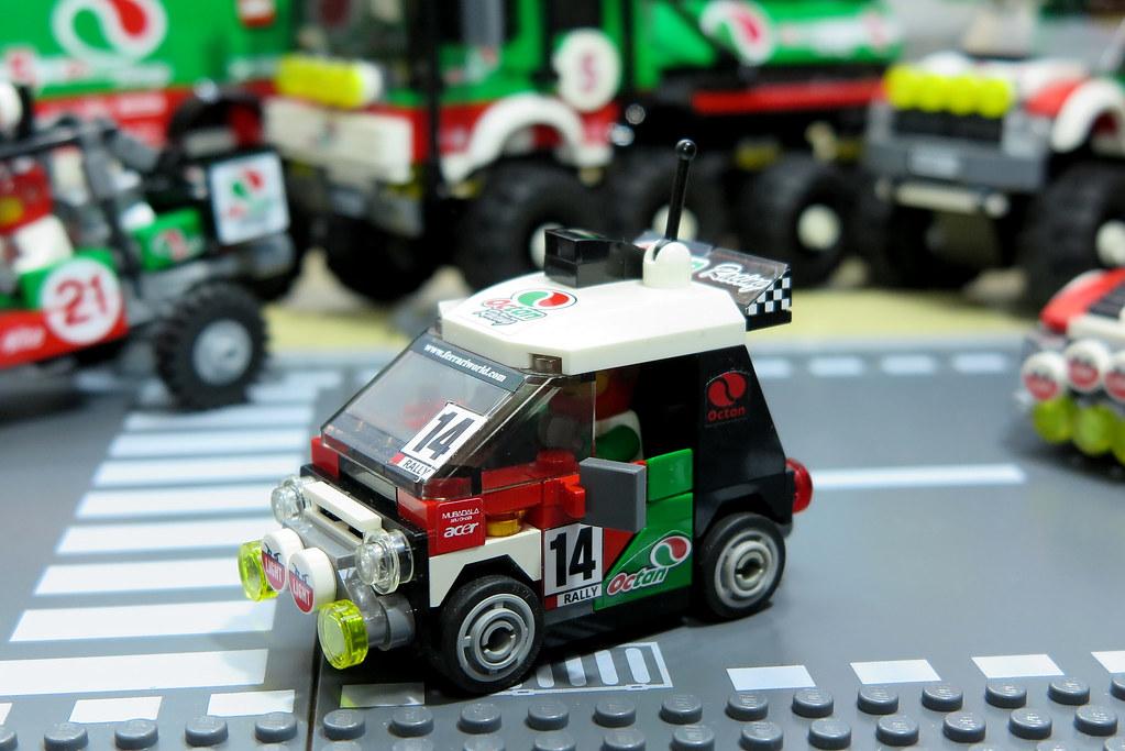 lego mod octan rally car a segment car 1103 s p a. Black Bedroom Furniture Sets. Home Design Ideas