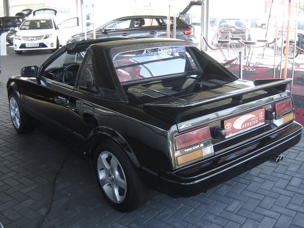 1980 S Toyota Mr2 This Is A Toyota Mr2 From The First