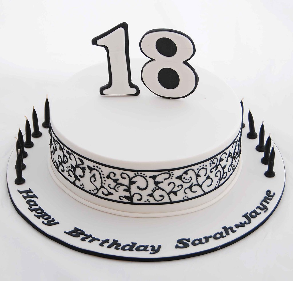 18th birthday cakes asda