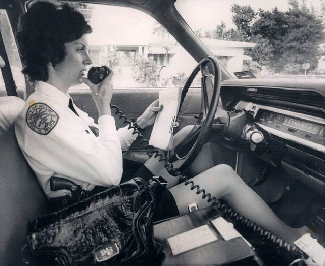 70s vintage police woman