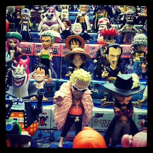 Banpresto One Piece in a UFO Catcher | by Drew from the Slope