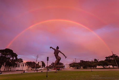 Double Rainbow Bliss | by Joe Azure