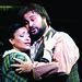 Roberto Aronica as Rodolfo and Cristina Gallardo-Domas as Mimi in La boheme © Catherine Ashmore/ROH