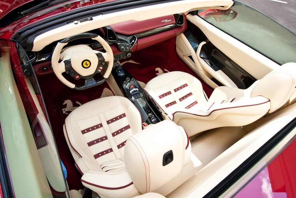 ferrari 458 white interior. ferrari 458 white interior 4