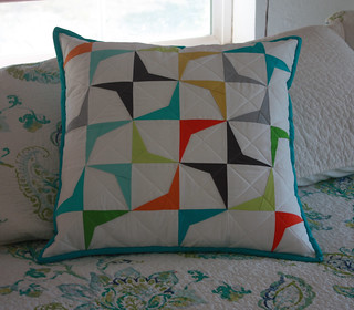 Mini Trajectory Pillow | by ~Dorrie