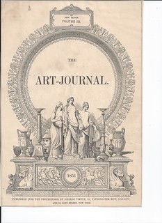 new series volume 3 the art journal 1851 book plate | by photojojo3