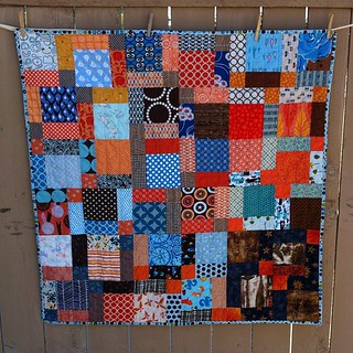 Sew.Quilt.Give.  Charity boy quilt. All done and ready to be given to a little boy. | by SunnyInCAL