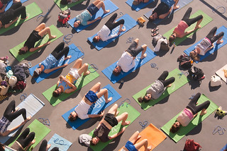 Yoga Class at Bondi | by Kokkai Ng