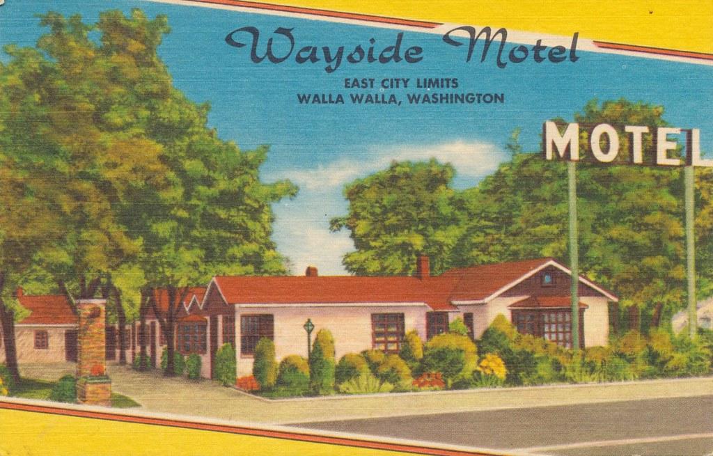 Wayside Motel - Walla Walla, Washington