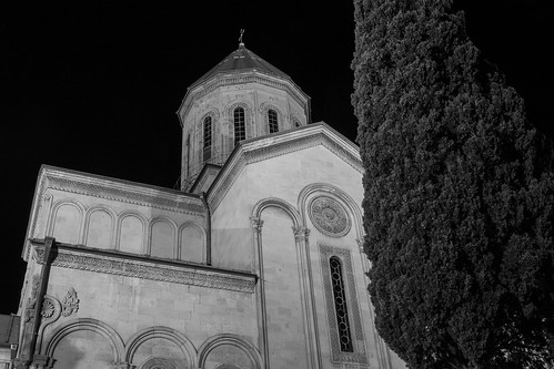 Tbilisi Sioni Cathedral at Night | by Dr. Harout