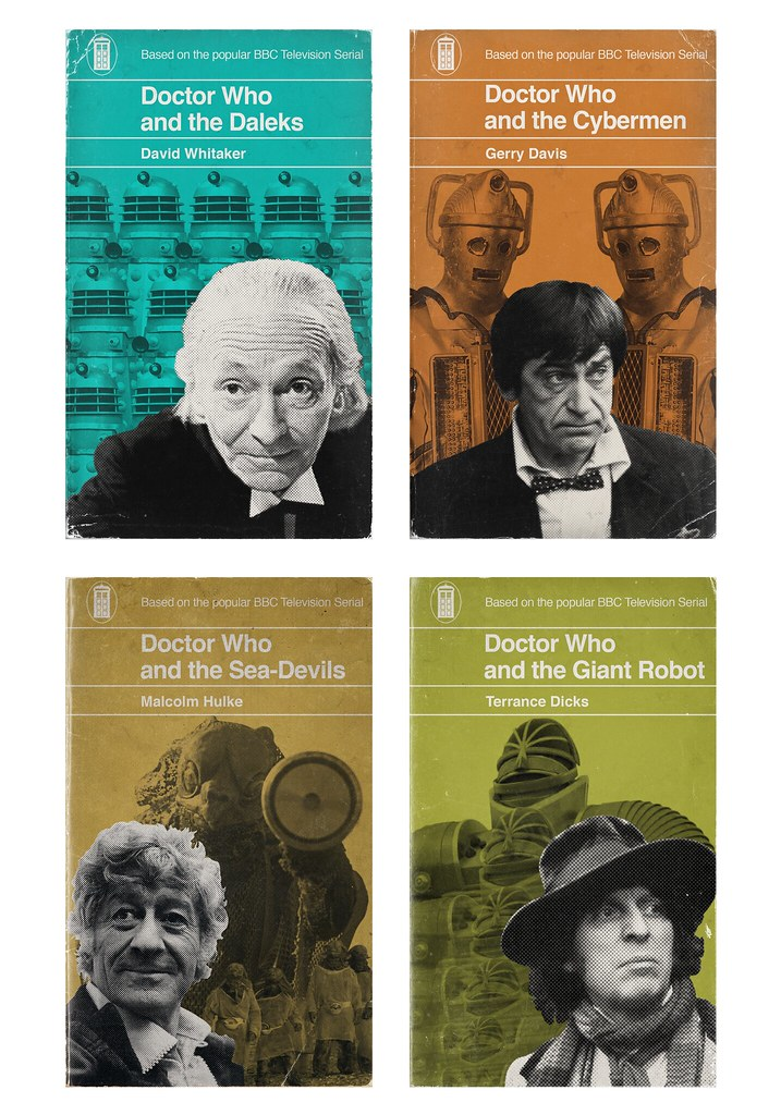 Penguin Book Cover T Shirts ~ Penguin who my style doctor book covers are