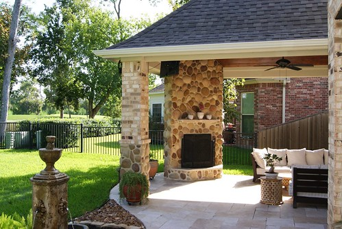 Covered Patio Outdoor Kitchen Ideas