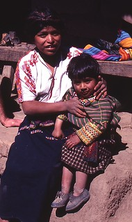 Mayan Girl with little brother | by Under the same moon...