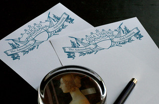 Astounding Personalized Stationery | by 16_sparrows