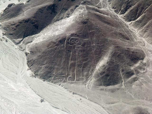 Astronauta (Líneas de Nazca en avioneta)