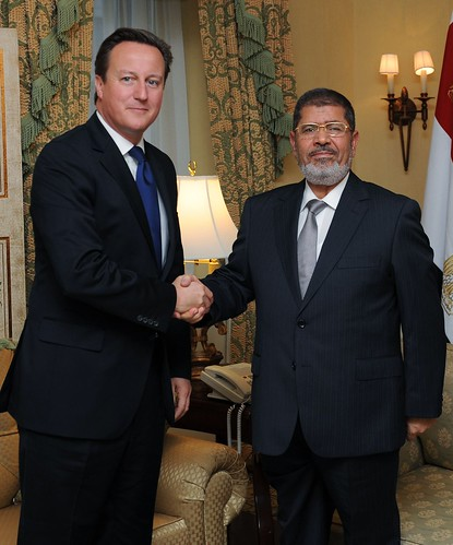 PM with Egyptian President Mursi | by The Prime Minister's Office