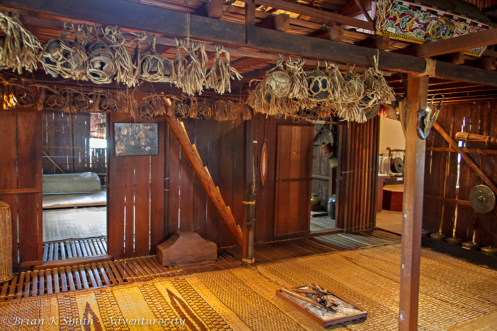 Foyer Museum Jobs : Iban longhouse sarawak state museum ethnology hall flickr