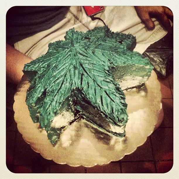 Cannabis Cake Pan