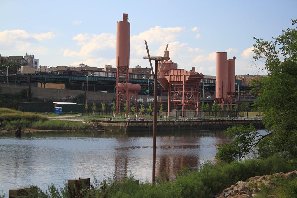 New York Cement Plants : Concrete plant park soundview the bronx new york city