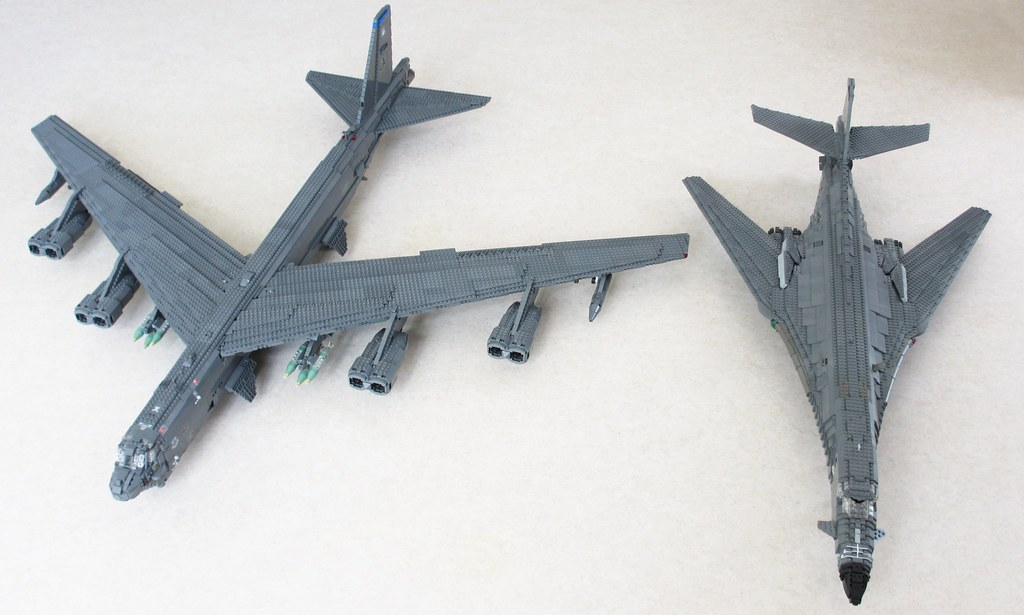 USAF heavy bombers (1)...B 52s