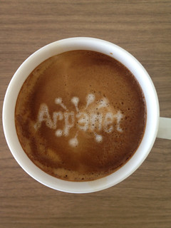 Today's latte, ARPANET. | by yukop
