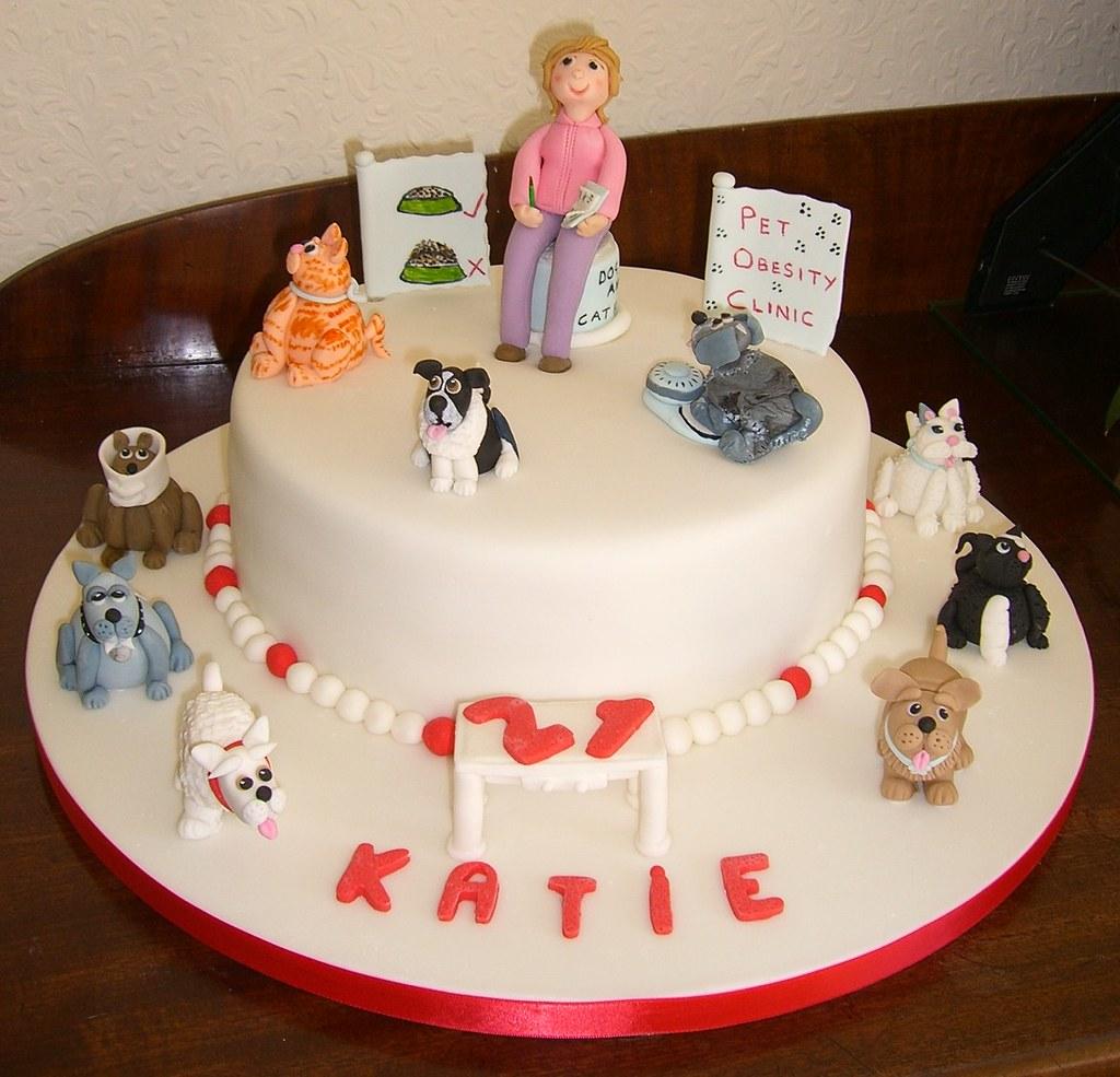21st Birthday Pet Obesity Cake