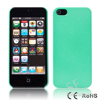 Green Case for iPhone 5 with Ultra-thin Cover - www.slickfans.com | by Hoka88