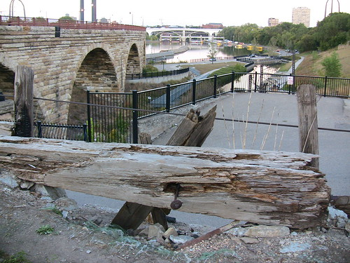 Stone Arch Bridge - Rotting Timber | by frickin_gruvin