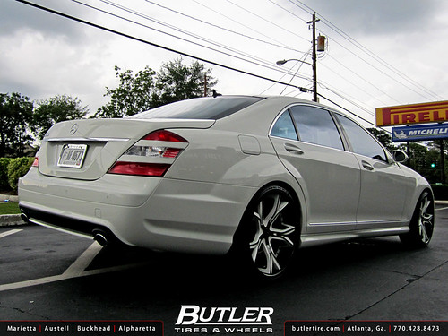 Mercedes benz s class with 22in asanti cx176 wheels flickr for Mercedes benz tire