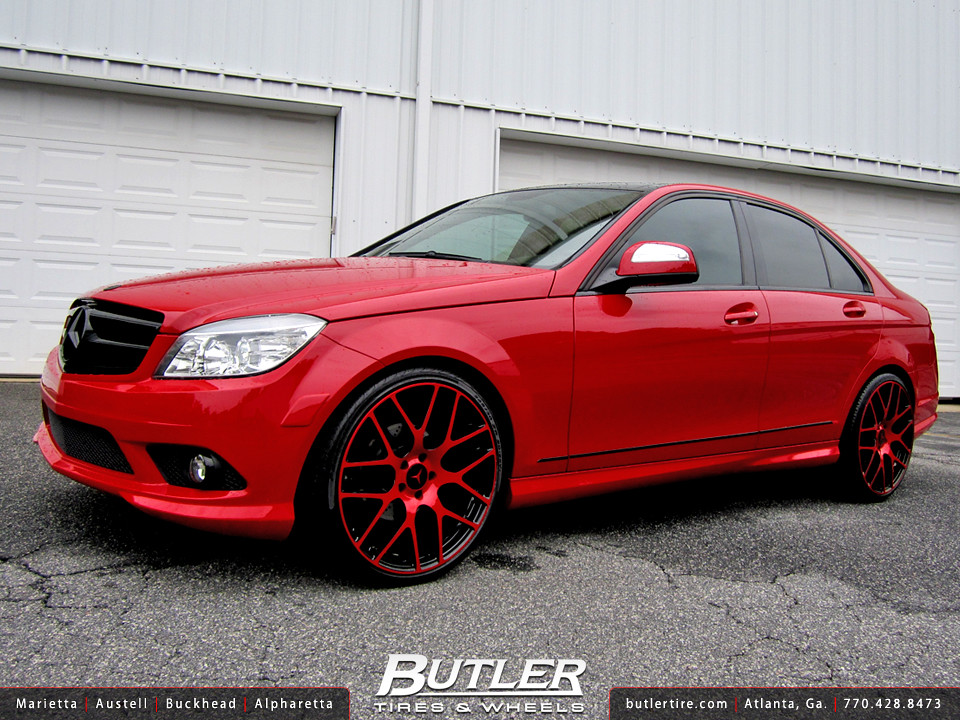 Mercedes benz c300 with 20in tsw nurburgring wheels flickr for 2008 mercedes benz c300 tires