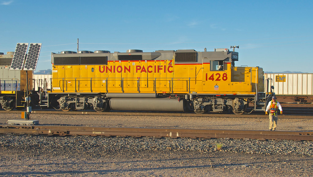 Union Pacific Ex Southern Pacific 3000 Hp Gp40 2 Now A