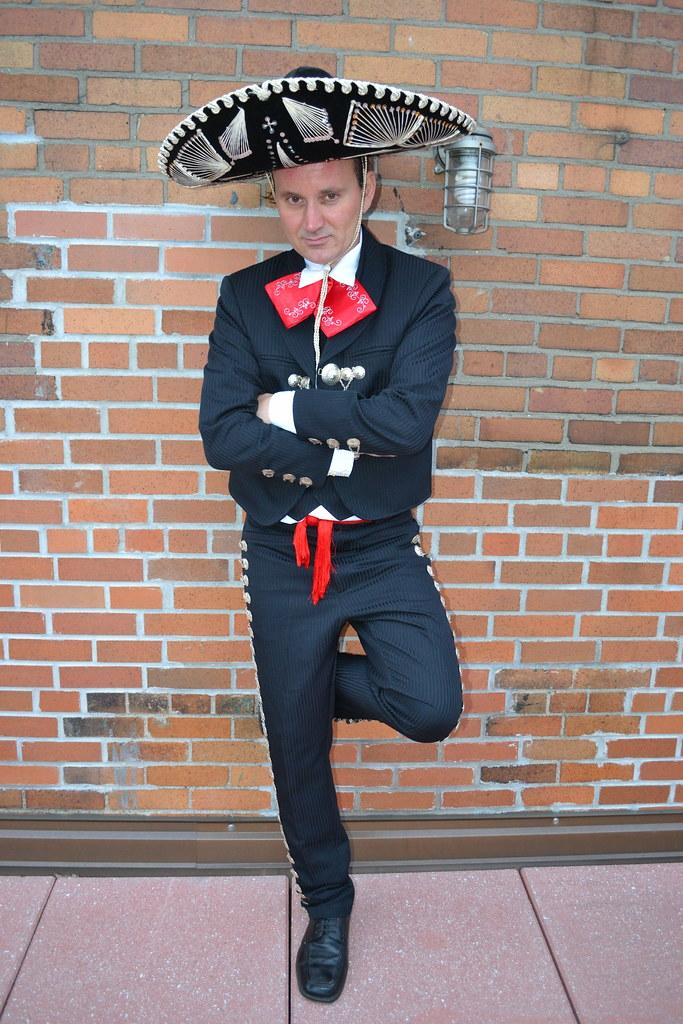 ryan janek wolowski wearing a traditional mens mexican ch