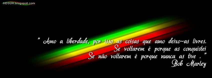 All Sizes 105 Capa Para Facebook Com Frase Do Bob Marley Amo A