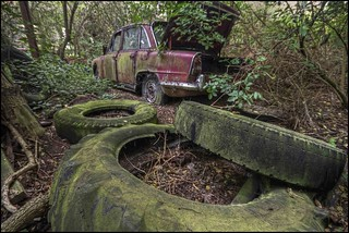 Tread Carefully at the Car Graveyard | by Martyn.Smith.