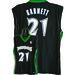7003W-316 MINNESOTA TIMBERWOLVES WOMENS NBA REPLICA JERSEY   GARNETT, K #21 BLACK/GREEN