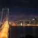 Bay Bridge and San Francisco City at Night