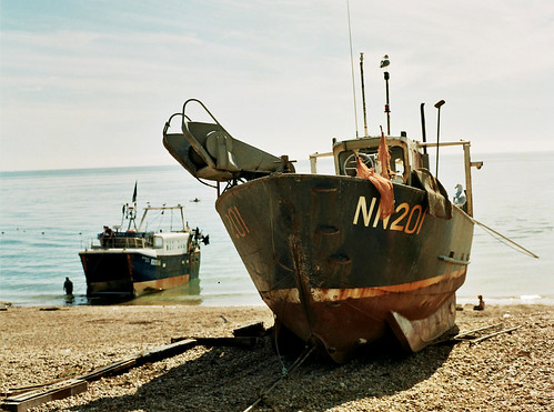 Fishing boat, Hastings | by misund007