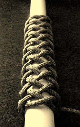 A 'long 4 bight' paracord Turk's head knot... | by Stormdrane
