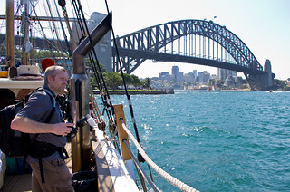Sydney Harbour - Tall Ship Experience aboard the Southern Swan | by natalieingram