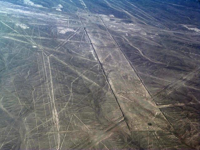 Así se ven en un vuelo en avioneta las Líneas de Nazca